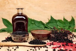 Eldeberry syrup and its antioxiant properties