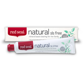 Fluoride-free kind of toothpaste
