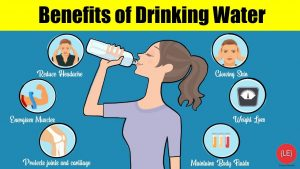 Some benefits of drinking water