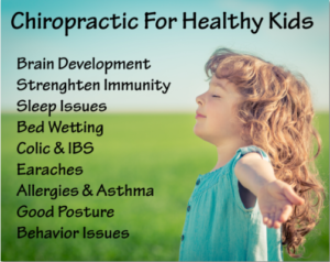 Some of the effects of chiropractic care on kids