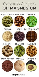Some sources of magnesium