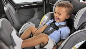 Rear-facing car child seat