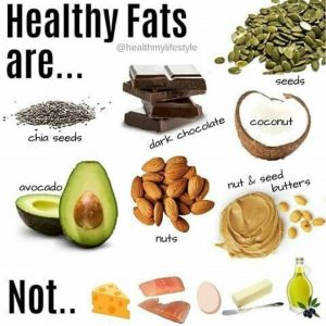 Good healthy fats